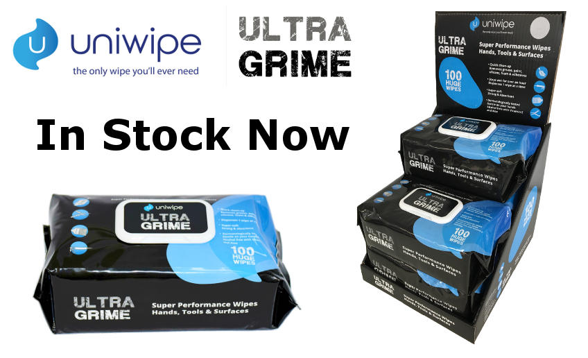 Uniwipe Ultra Grime Wipes Blog Image 1