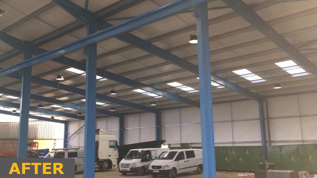 Industrial Warehouse, Suffolk