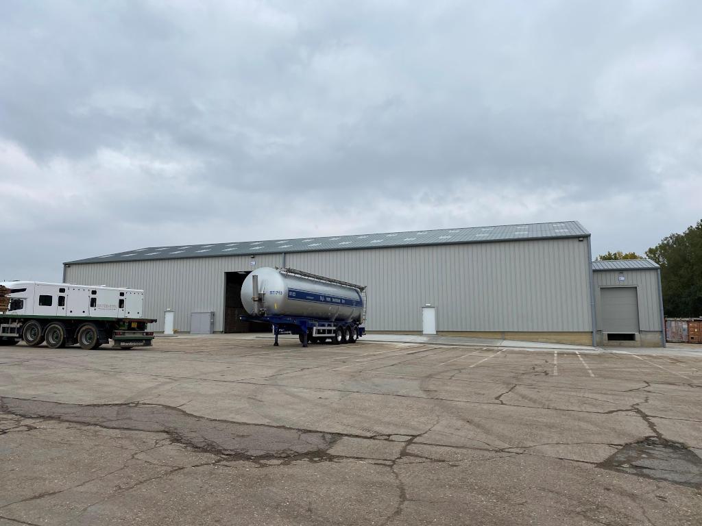 Industrial Storage Warehouse, Suffolk